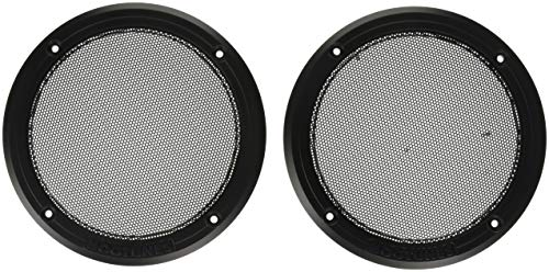 Rear Grill Speaker - Hogtunes RM Replacement Rear Speaker Grilles for 2014-2016 Harley-Davidson Ultra Touring Models - REAR-RM GRILL