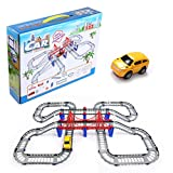 Christmas Gift Adventurous Play Vehicles Remote Control Toy Remote Control Train Tracks Roller Coast Building Set