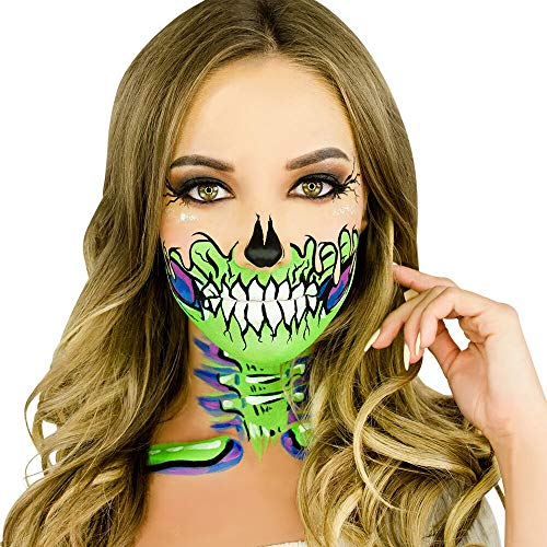 Woochie Water Activated Makeup Kit - Professional Quality Halloween and Costume Makeup - Meltdown]()