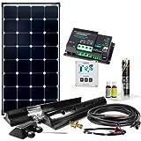 Offgridtec Wohnmobil Solaranlage SPR-100 110W 12V Solar Komplettsystem mit MPPT – DUAL Laderegler