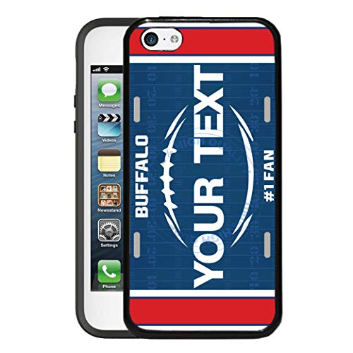 BRGiftShop Customize Your Own Football Team Buffalo Rubber Phone Case for Apple iPod Touch 5th & 6th Generation