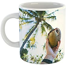 Westlake Art - Coffee Cup Mug - Coconut Water - Modern Picture Photography Artwork Home Office Birthday Gift - 11oz (*9m-f0a-64c)