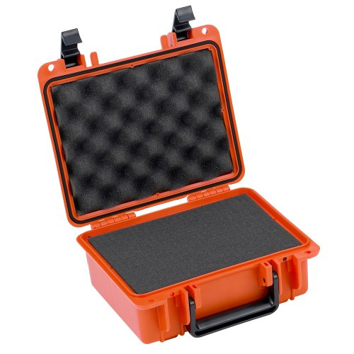Seahorse 300 Protective Case with Foam, Neon Orange