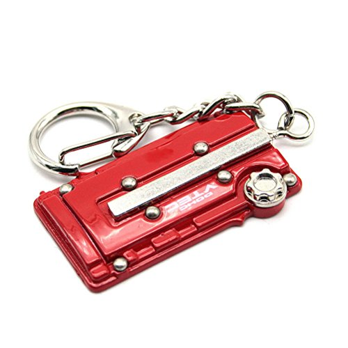 Parts Engine Auto - Waterwood Creative Auto Part Model B16 Engine Keychain Key chain Ring-Golden
