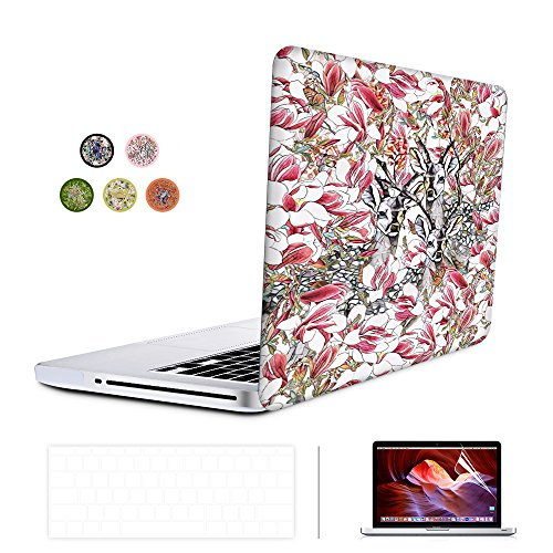 SUNKY MacBook New Pro 13 Case, Soft-Touch Series Plastic Hard Case Cover + Keyboard Skin + HD Screen Protector for Macbook Pro 13-inch 13