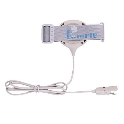bater/ía de litio recargable ni/ñas con sonido fuerte y fuerte vibraci/ón para orinales blanco todos los ni/ños alta capacidad Alarma de enuresis entrenamiento de orinal para ni/ños 3 modos