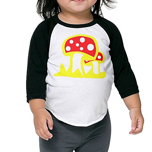 Soy Sauce Baby Costume (Fly Agaric Mushroom Kid's Sleeve Raglan Clothes Unisex 3 Toddler Personalize)