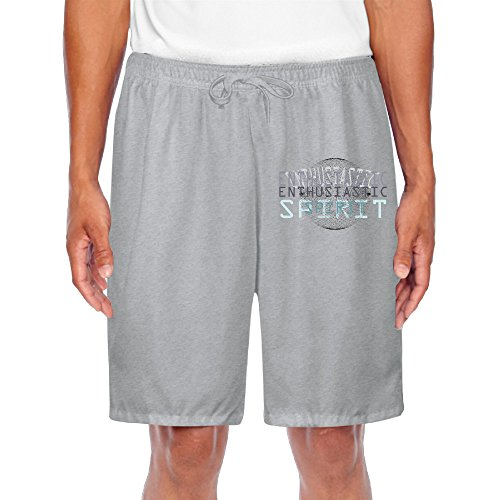 [Stylish Men's Shorts Enthusiastic Spirt For Athletic Sports] (Spirt Halloween)