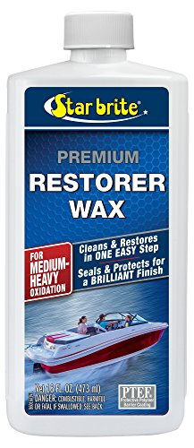 Star brite Premium Restorer Wax - For Heavy to Medium Oxidation