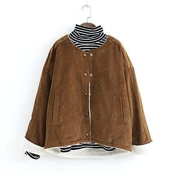 Amazon.com: PiterNace Warm;Cozy Fleeced Corduroy Jacket