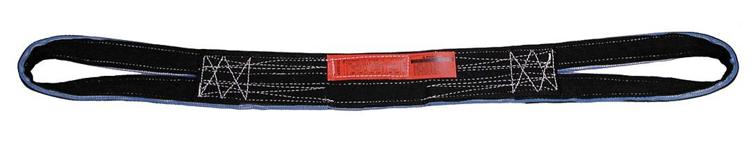 Web Sling, Type RE, Tuff-Edge, 2inW, 8 ft.L