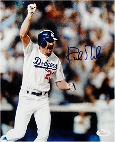 - Kirk Gibson Hand Signed Autograph 16x20 Photo LA Dodgers fist Pump Dodgers JSA