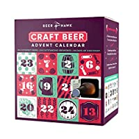 Beer Hawk 2018 Craft Beer Advent Calendar Set - 24 Craft Beer Selection Box