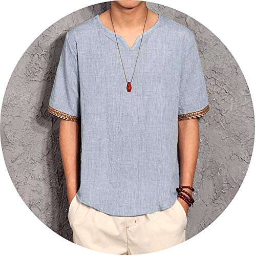 Lucky Shop- Summer Clothes Men Shirt Chinese Culture for sale  Delivered anywhere in Canada