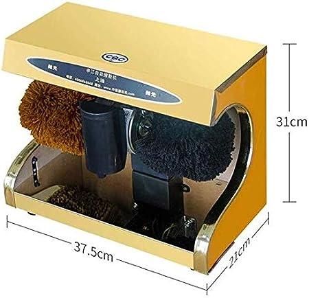 DX Betún eléctrica Zapato de la máquina pulidora, Calzado eléctrico polacas Machinefor en Hotel Familiar Banco Lugares públicos máquina de Limpieza de Zapatos portátil (Size : A): Amazon.es: Hogar
