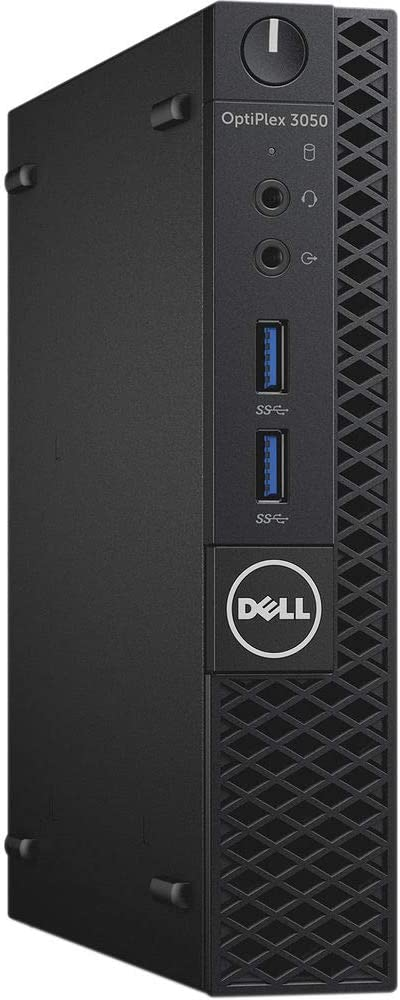 Dell OptiPlex Micro Form Factor (MFF) High Performance Business PC, Intel i5-7500T Processor, 16GB DDR4, 512GB SSD, Display Port/HDMI, USB 3.0, Ethernet, Windows 10 Pro, Includes Keyboard Mouse