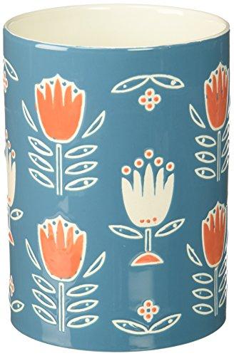 Now Designs Stoneware Utensil Crock, Tulipa Design ()