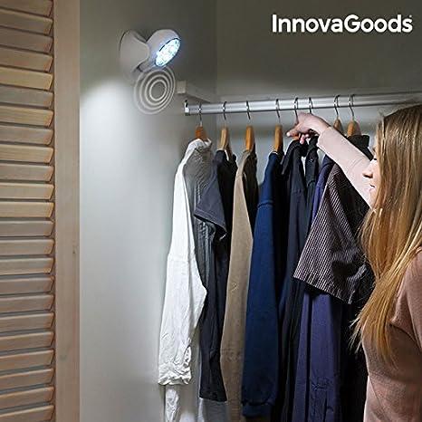 Iluminacion led armarios puertas escaleras con sensor de movimiento. 7 led. Apto para interiores