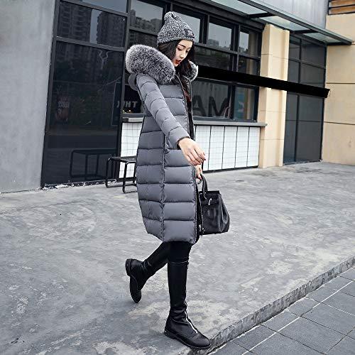 Fourrure Poches À Hiver Manteau Inversés Vêtements Gris Manteaux Longs Veste Coton Chaud En Automne D'extérieur Capuche Zzzz Pour Femme Femmes Blouson 1PTqpPw