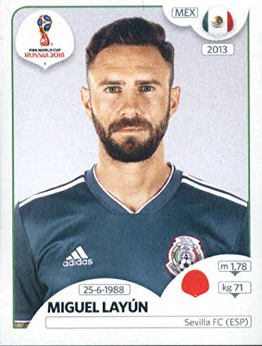 Stickers Miguel - 2018 Panini World Cup Stickers Russia #459 Miguel Layun Mexico Soccer Sticker