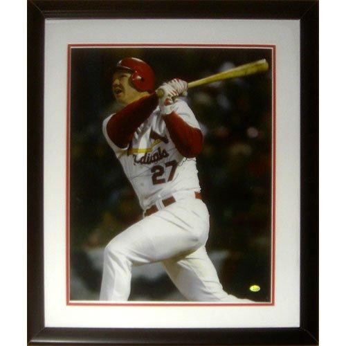 - Scott Rolen Autographed St. Louis Cardinals Deluxe Framed 16x20 Photo