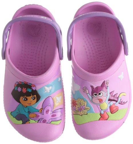 (crocs 14045 SS13 CC Clog (Toddler/Little Kid),Carnation/Iris,12 M US Little Kid)