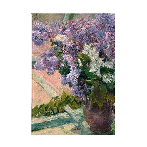 - CafePress Cassatt - Lilacs Rectangle Magnet Rectangle Magnet, 2