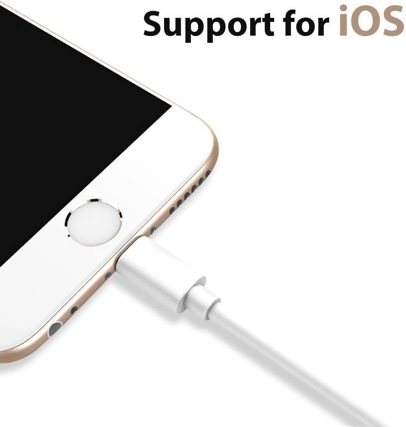 CABB Lightning to 3.5 mm Headphone Adapter Earphone Earbuds Adapter Jack 2 Pack,Compatible with iPhone 11 Pro Max X//XS//Max//XR//7//8//8 Plus//iOS11//12//13 Plug and Play GPS Screen Protector Foils White