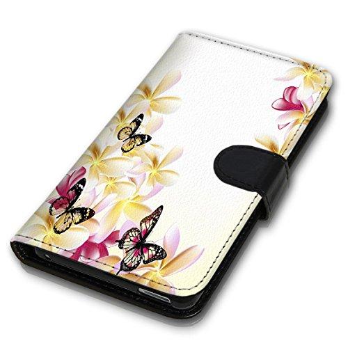 Wallet Book Style Flip Handy Tasche Case Schutz Hülle Schale Motiv Etui für Apple iPhone 6 Plus / 6S Plus - Design Flip MVD416