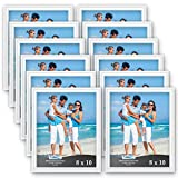 pictures of white kitchens Icona Bay 8x10 Picture Frames (12 Pack, White) White Picture Frame Set, Wall Mount or Table Top, Set of 12 Inspirations Collection