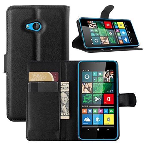 Funda Microsoft Nokia lumia 640,Manyip Caja del teléfono del cuero,Protector de Pantalla de Slim Case Estilo Billetera con Ranuras para Tarjetas, Soporte Plegable, Cierre Magnético(JFC7-2) G