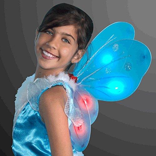 blinkee Light Up Aqua Fairy Butterfly Wings by