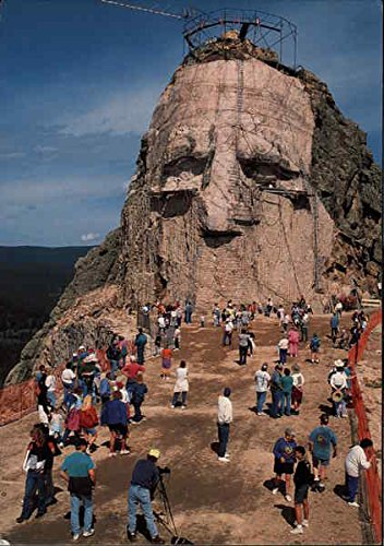 Crazy Horse Mountain Memorial Black Hills, South Dakota Original Vintage Postcard Crazy Horse Dakota