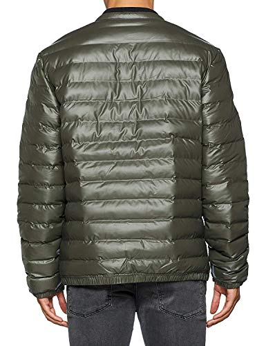 Veste Bomber Vert Guess Stretch Homme Light Piumino Super wPWxH1q46