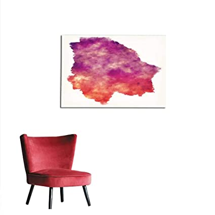 Amazon Com Homehot Painting Post Chihuahua State Map Of Mexico In