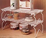 Mainstays Stacking Shelves 18 W x 7 D x 5.5 H (Pack of 4)
