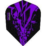 1 x Set Harrows Rapide X Purple Dart Flights Standard