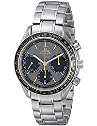 Men's 326.30.40.50.06.001 Speed Master Racing Analog Display Swiss Automatic Silver Watch
