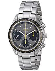 Omega Men's 326.30.40.50.06.001 Speed Master Racing Analog Display Swiss Automatic Silver Watch