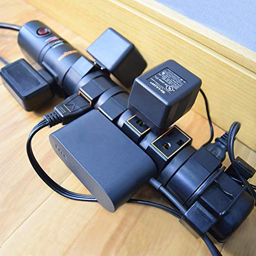 ECHOGEAR Power Strip Surge Protector with 8