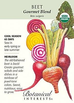 Gourmet Blend Beet Seeds - 2.5 grams - Organic