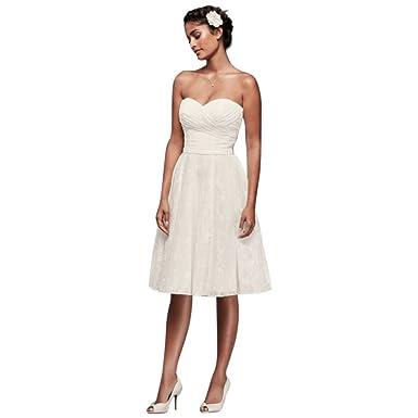 Ivory Short Wedding Dress