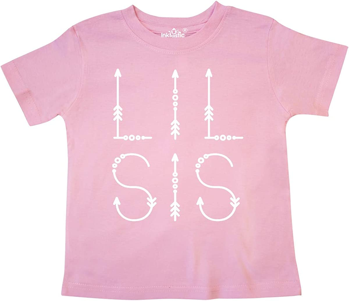 inktastic Little Sister Announcement Lil Sis Toddler T-Shirt
