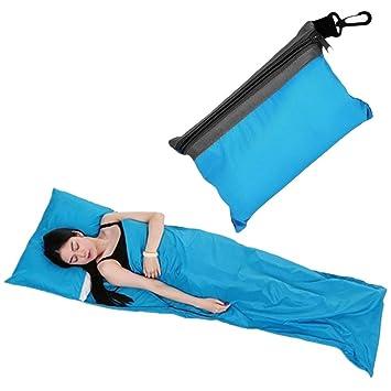 Sábanas de saco de dormir, Yokimico saco de dormir de viaje y camping: Amazon.es: Deportes y aire libre