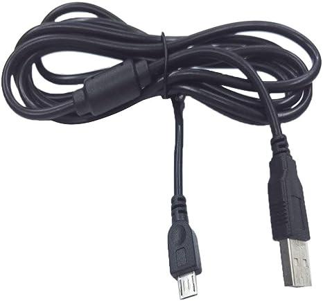 Cable de cargador de 6 pies para PS4, cable de carga para el controlador Playstation 4.: Amazon.es: Videojuegos
