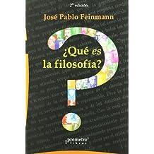 Que Es La Filosofia? (Spanish Edition)