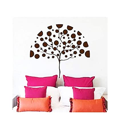 Amazon.com: Dailinming PVC Wall Stickers Polka Dot Umbrella ...