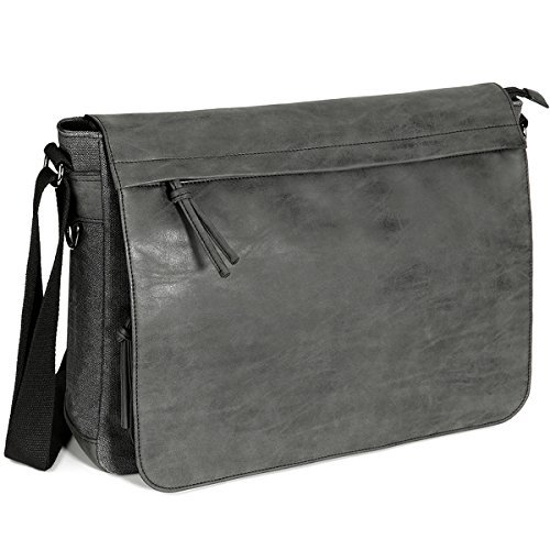 Buy men's leather messenger bags