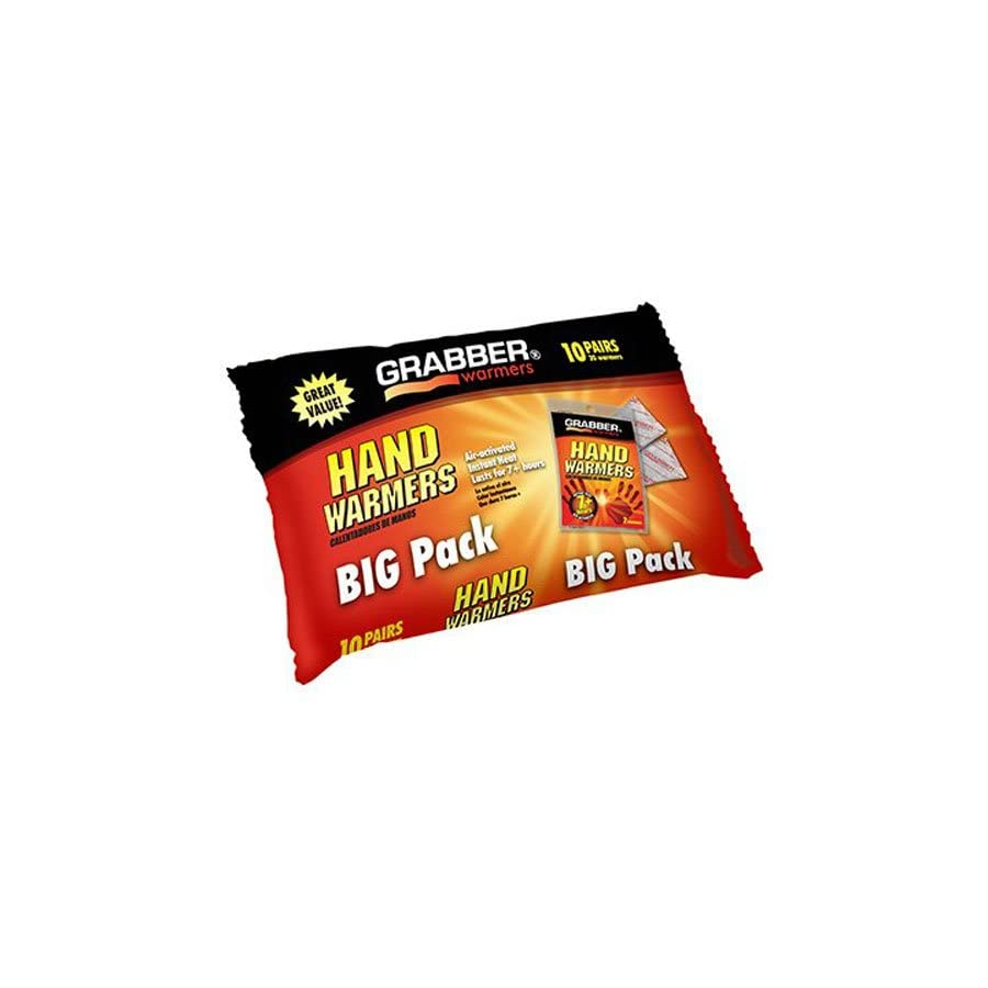 Grabber Outdoors 7 Hour Hand Warmers 1 Box of 40 Pair