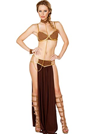 Amazon.com PINSE Egyptian Deluxe Space Slave costume Clothing